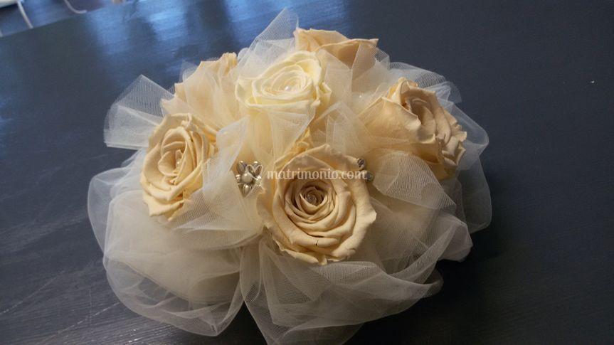 Bouquet rose stabilizzate