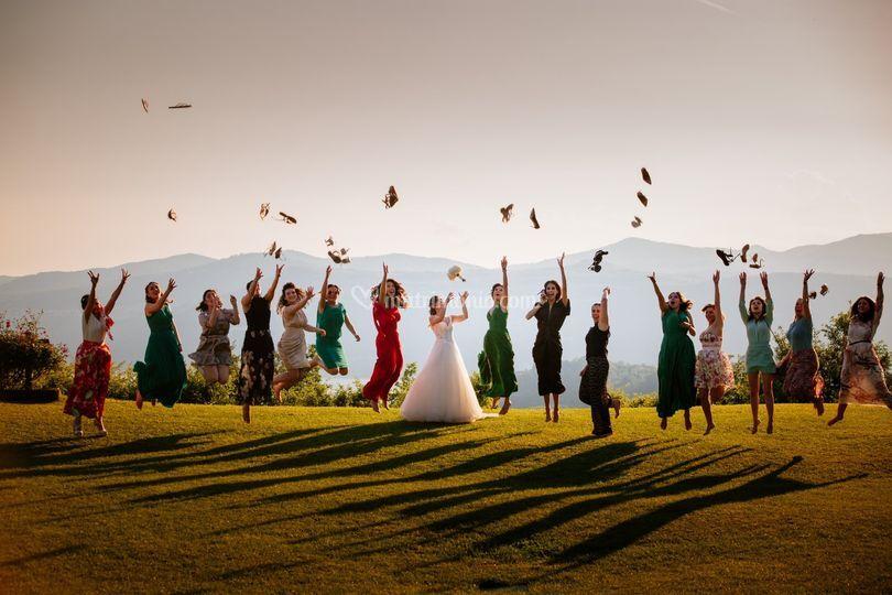 Villa repui sposa e amici