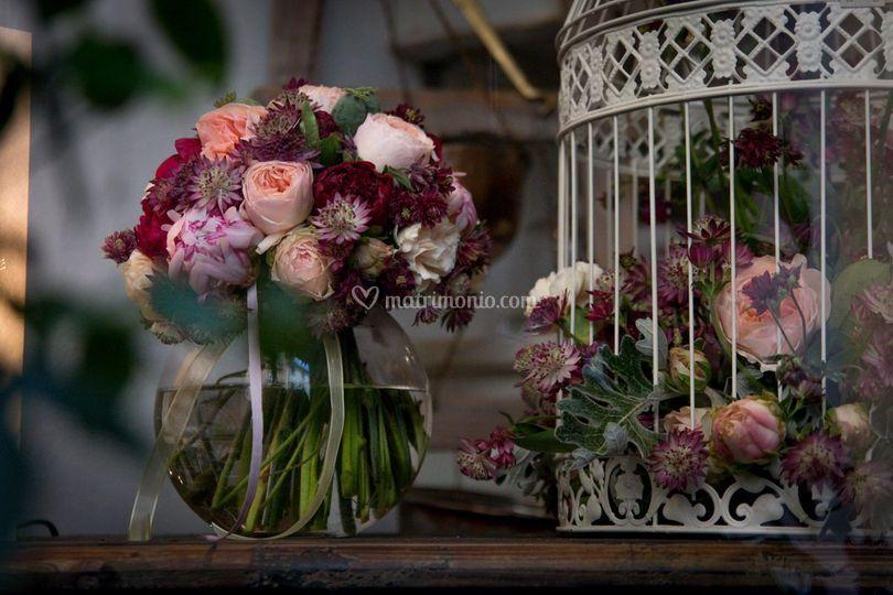 Bouquet boho di La Bottega di Davide Fiorentino