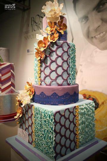 Matrimonio In Total White : Il boss delle torte napoletano