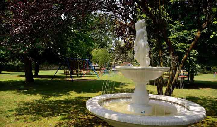 Vecchia dogana fontana