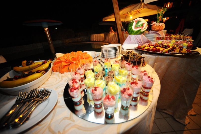 Buffet frutta e dolci