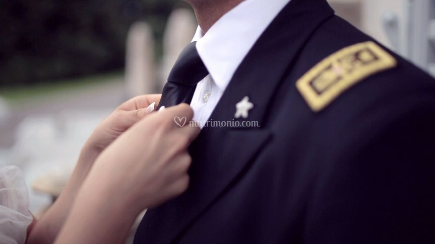 Sposo in divisa