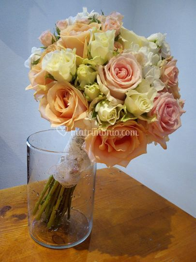 Bouquet misto rose
