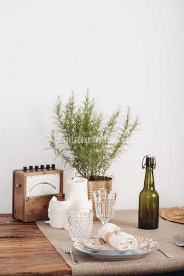 Table Setting Bohémien
