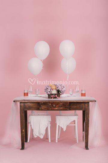 Table Setting Romantico