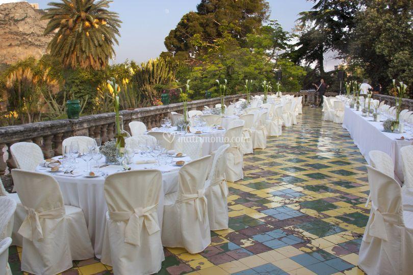 Villa bordonaro  terrazza