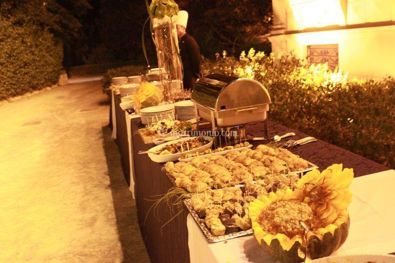 Villa malfitano buffet