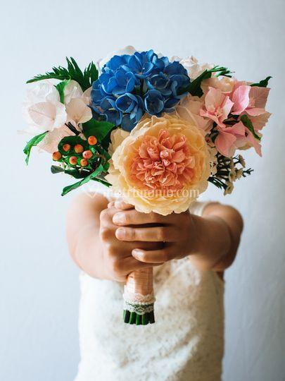 Bouquet da sposa shabby