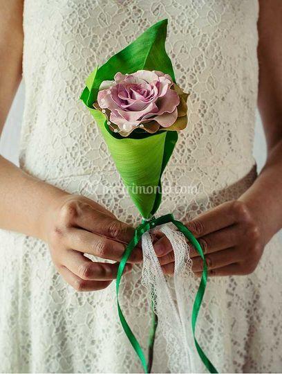 Bouquet fiore singolo