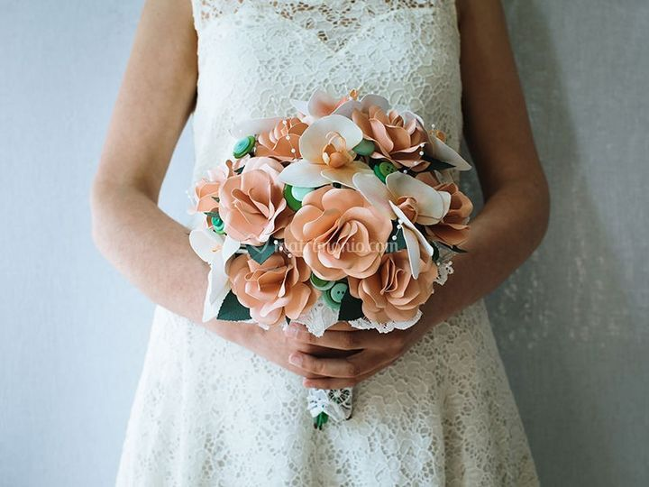 Bouquet orchidee e rose