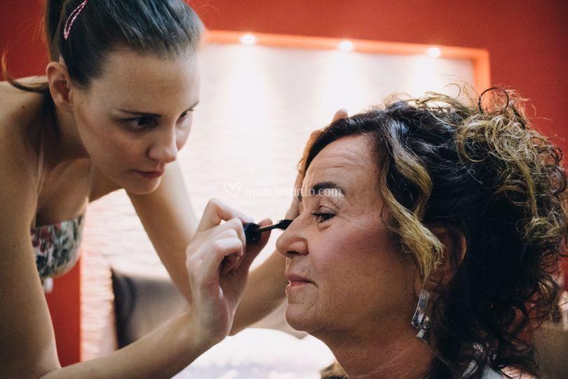 Make-up mamma sposa