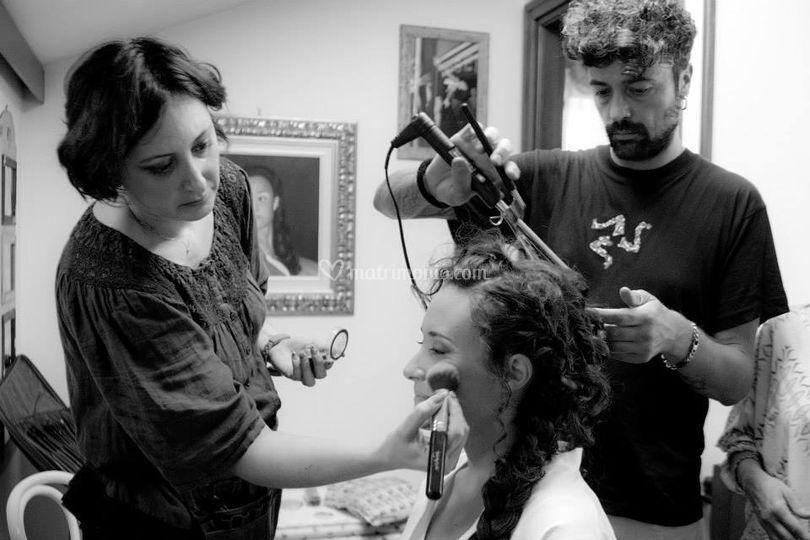 Backstage trucco parrucco