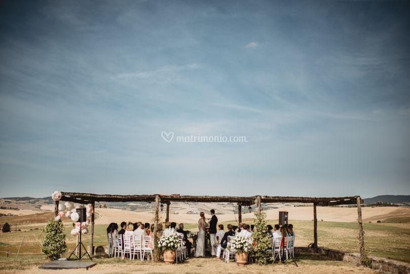 Cerimonia con vista