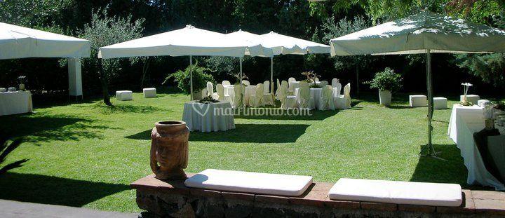 Lumia eventi giardino brunch