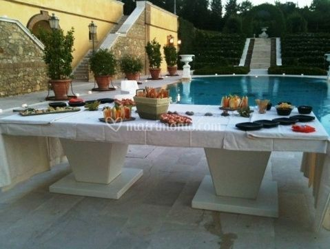 L 39 arca catering for Giardino 34 forli