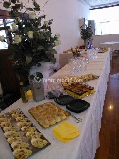 Buffet di inaugurazione