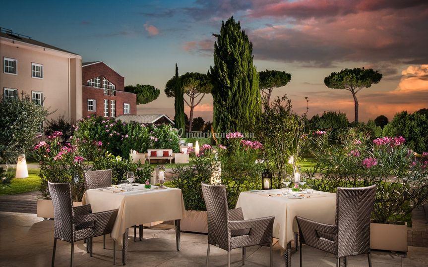 Club House - Terrace di Sheraton Parco de' Medici Rome ...