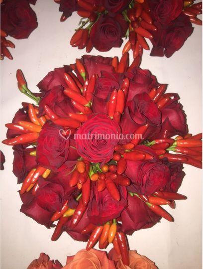 Rose e peperoncini