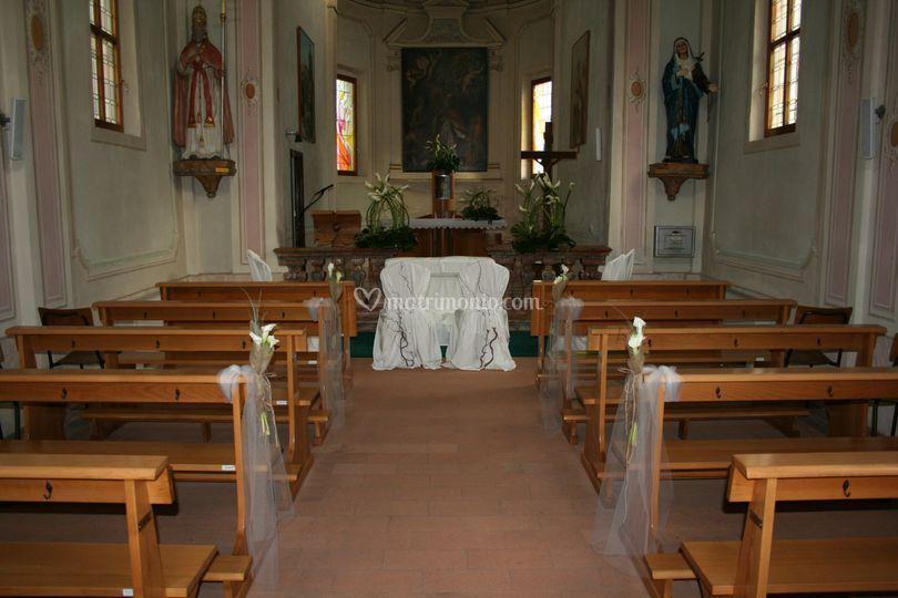 Vista dalla navata centrale