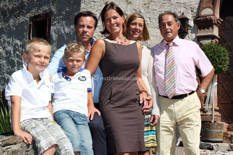 La famiglia Pobitzer