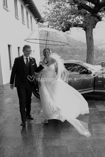 La sposa con il papa'