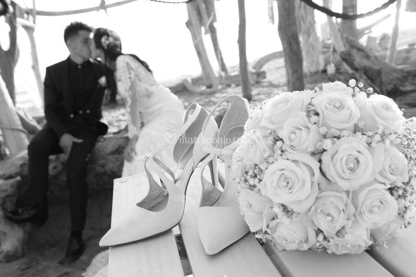 Bianco e nero romantico
