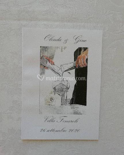 Libretti cerimonia personalizz