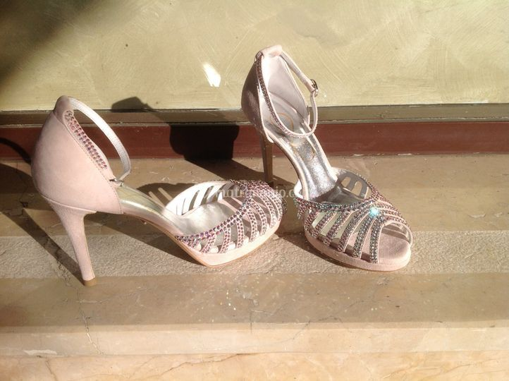 Sandalo con cristalli