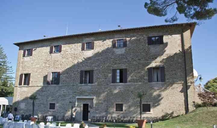 Esterno Villa Montegranelli