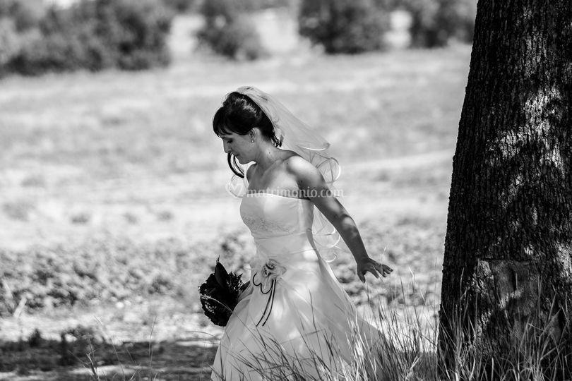 La sposa non sa di essere foto