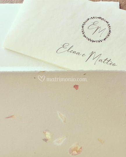E+M logo sposi
