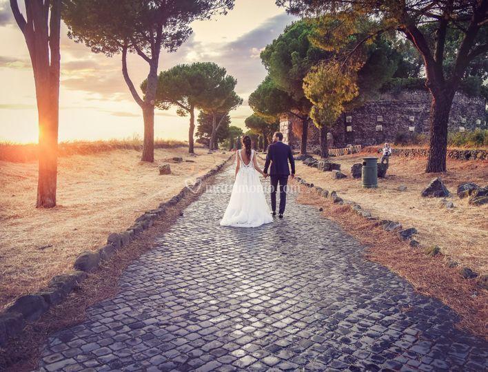 Matrimonio sull'Appia Antica