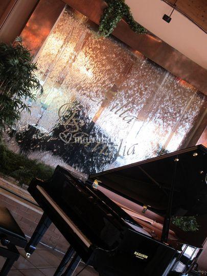 Particolare con pianoforte