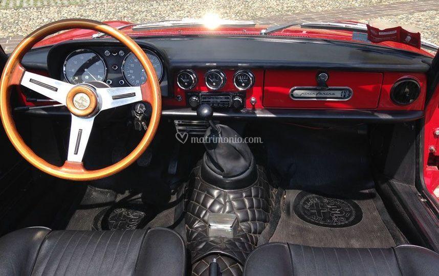 Alfa Spider Coda Tronca