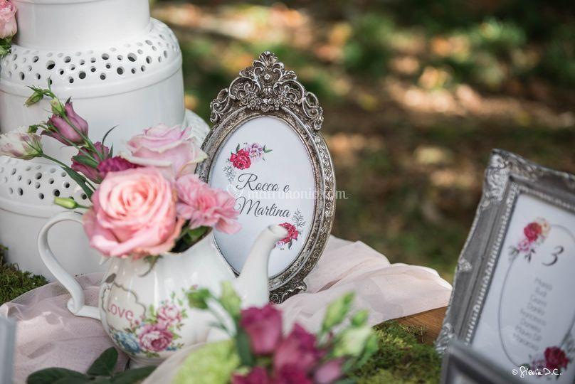 Tableau Mariage Garden Romance