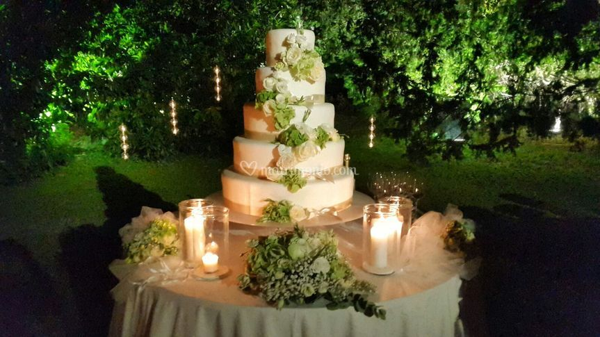 Wedding CaKe Greenery