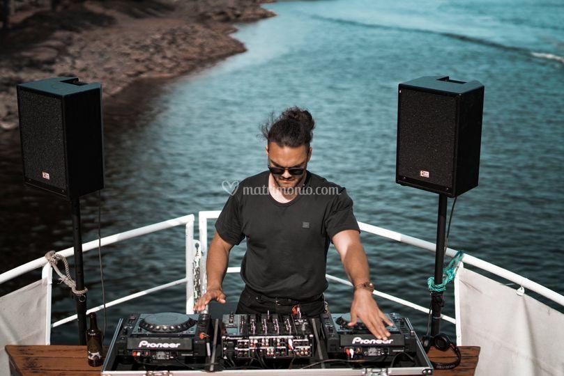 Postazione DJ