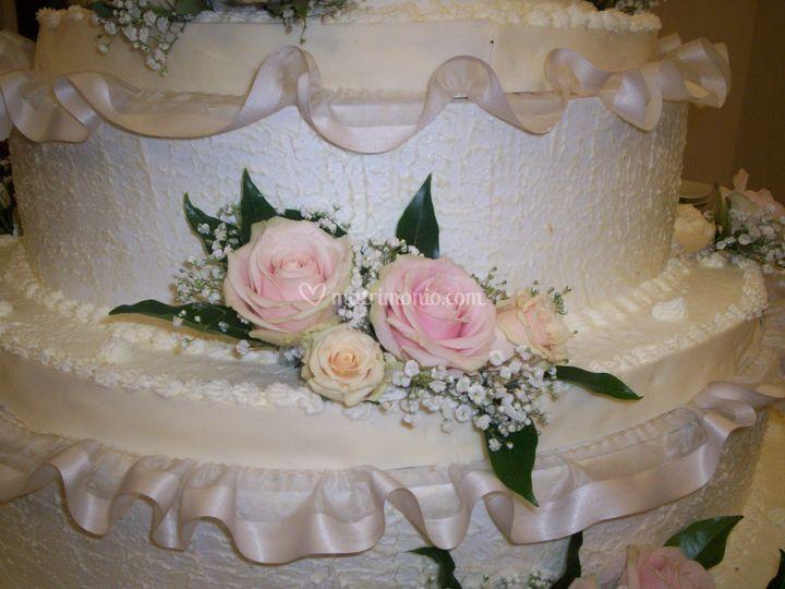 Particolare wedding cake