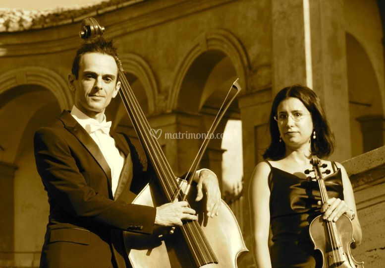 Duo violino e contrabbasso