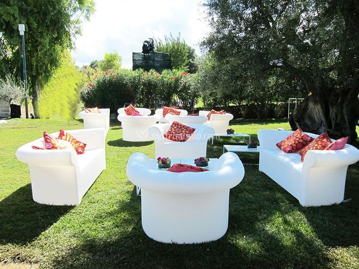 Lounge per l'esterno