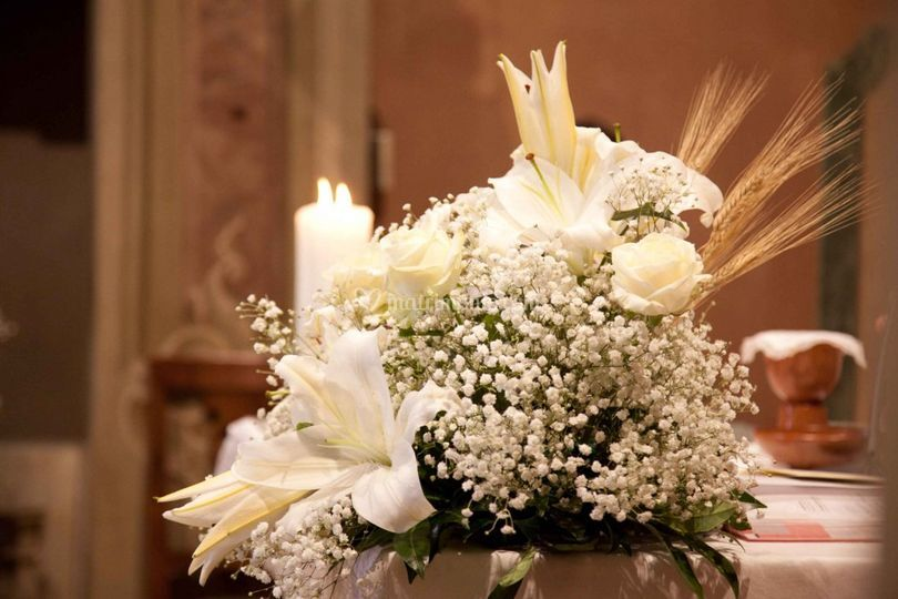 Addobbi Floreali Matrimonio Periodo Natalizio : Colombo della volta