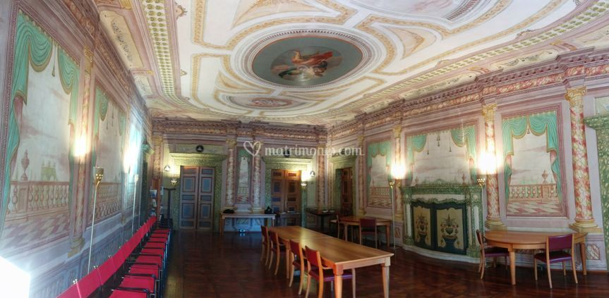 Palazzo Giuliani - Interni