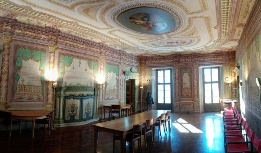 Palazzo Giuliani, Sala Wedding