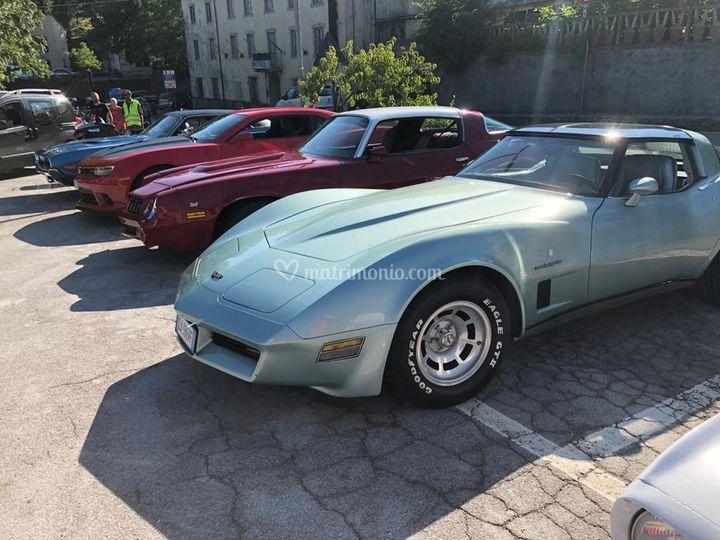 Corvette C3 noleggio firenze