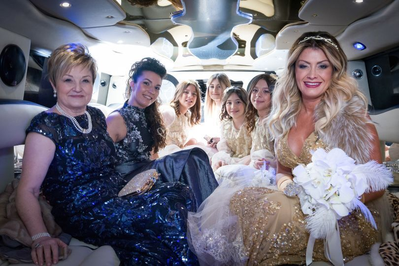 Hummer Limousine Matrimonio