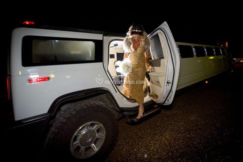 Hummer Limousine Pisa