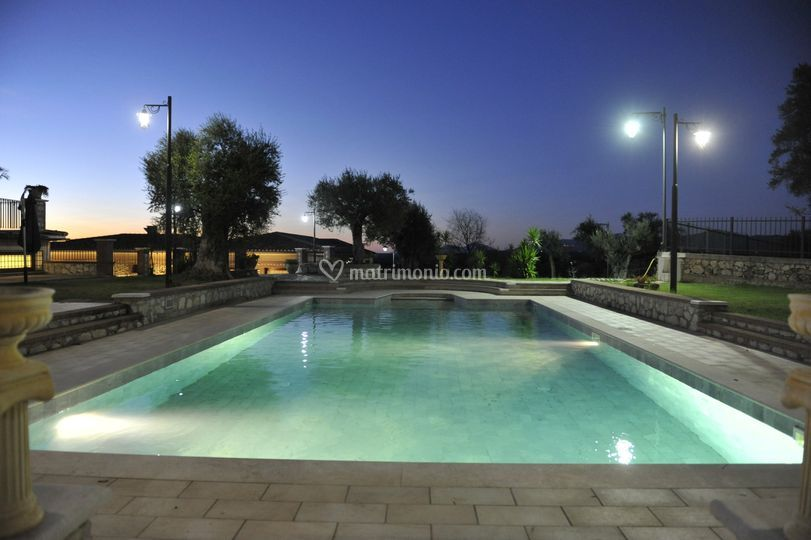 I colori della piscina