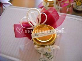 Vasetto miele con confetti
