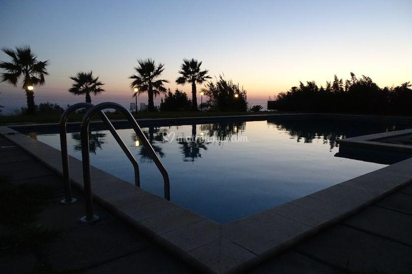 La piscina di Ristorante Le Terrazze di Villa Giulia | Foto 7